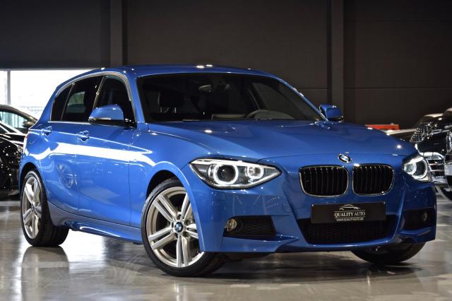 BMW 118 5-T�rer d * M - EXCLUSIVE * NAVI * LEDER * XENON * LED *